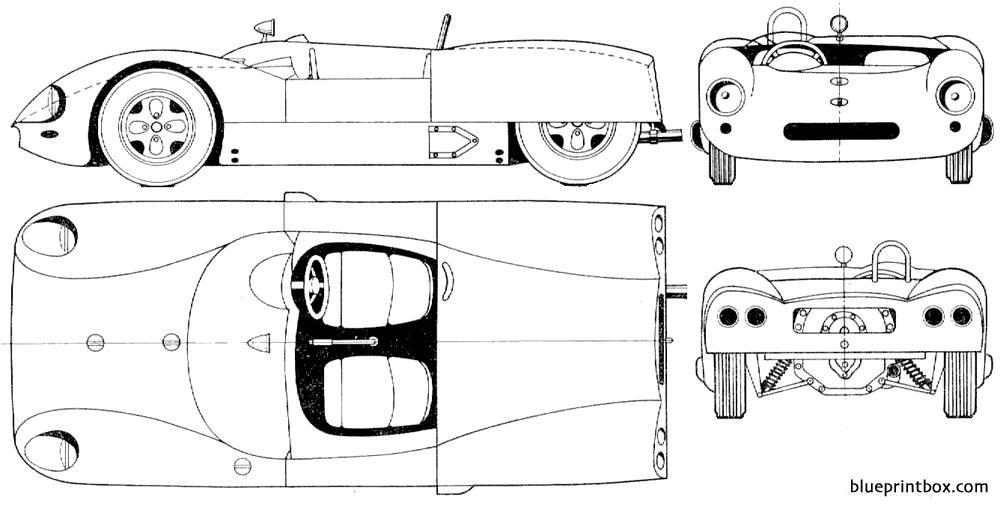 Lotus 19 Monte Carlo - Blueprintbox Com