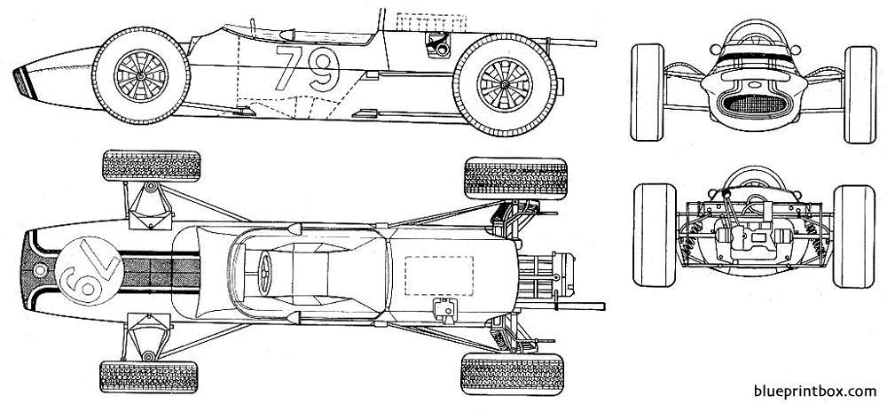 Matra F2 3 - Blueprintbox Com