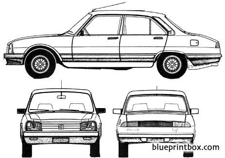 Peugeot 504 Srx 1998 Argentina Blueprintbox Com Free Plans And