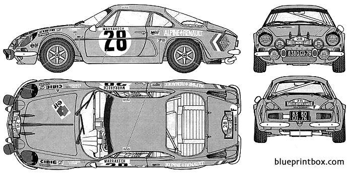 Renault Alpine A110 Monte Carlo 71