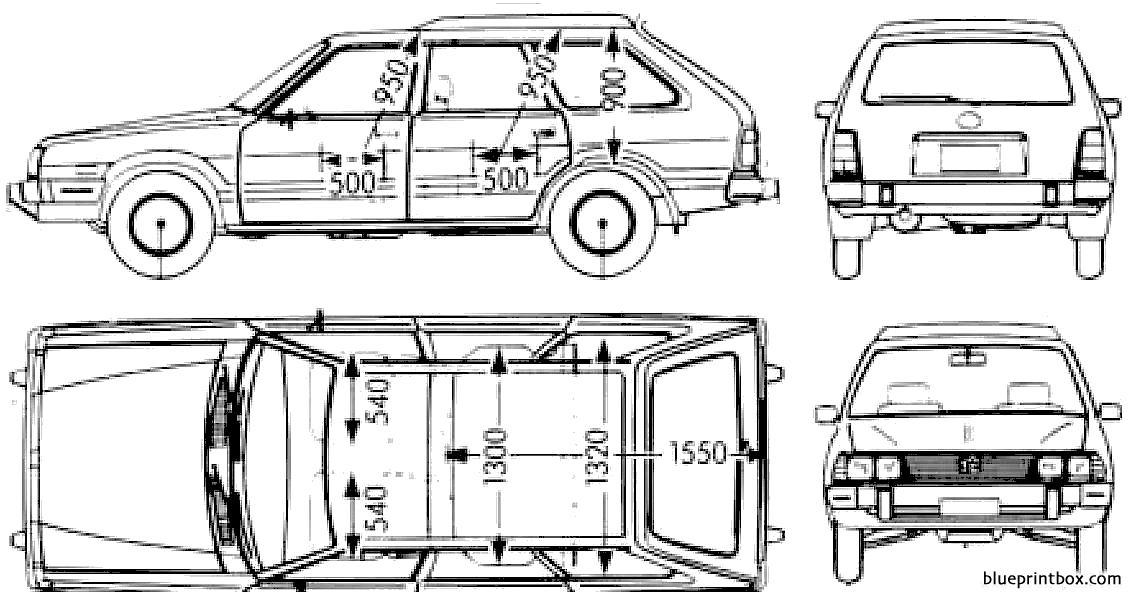 subaru leone wagon high roof 1800 1983