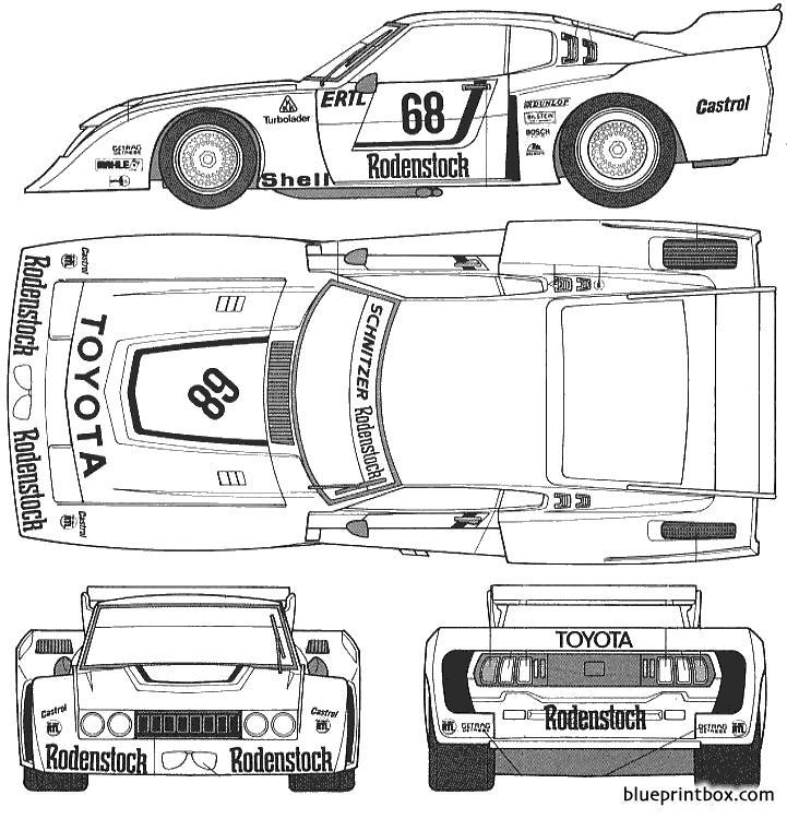 Toyota Celica Lb Turbo - Blueprintbox Com