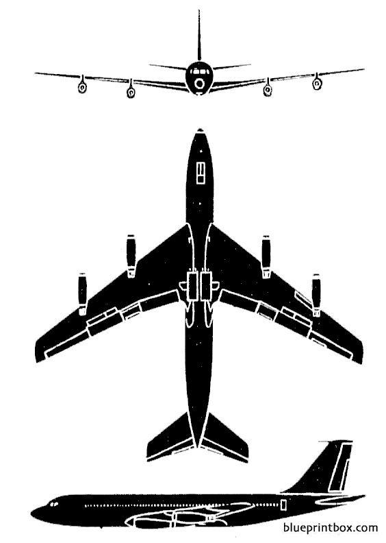Boeing 707 3 - Blueprintbox Com