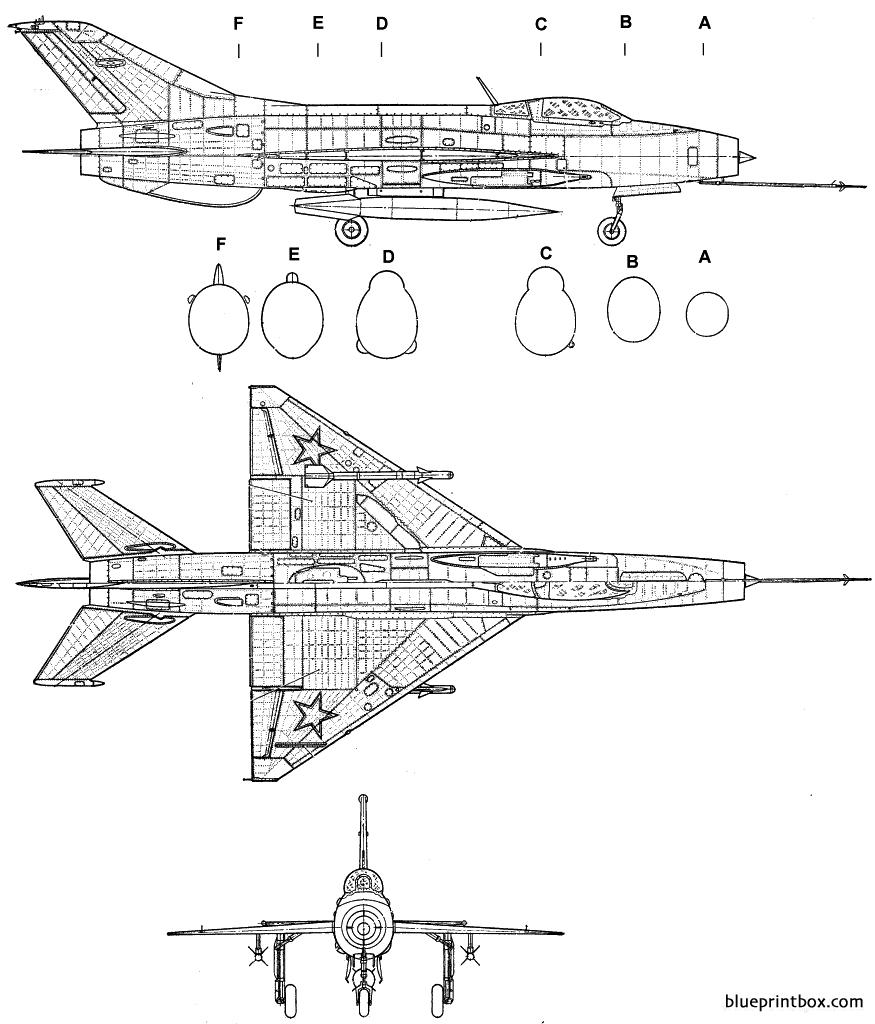 Mikoyan Gourevitch Mig 21f Fishbed