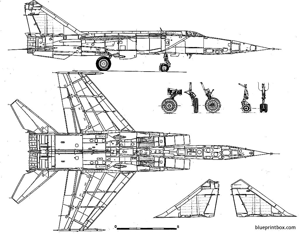 Mikoyan Gourevitch Mig 25 Foxbat 2