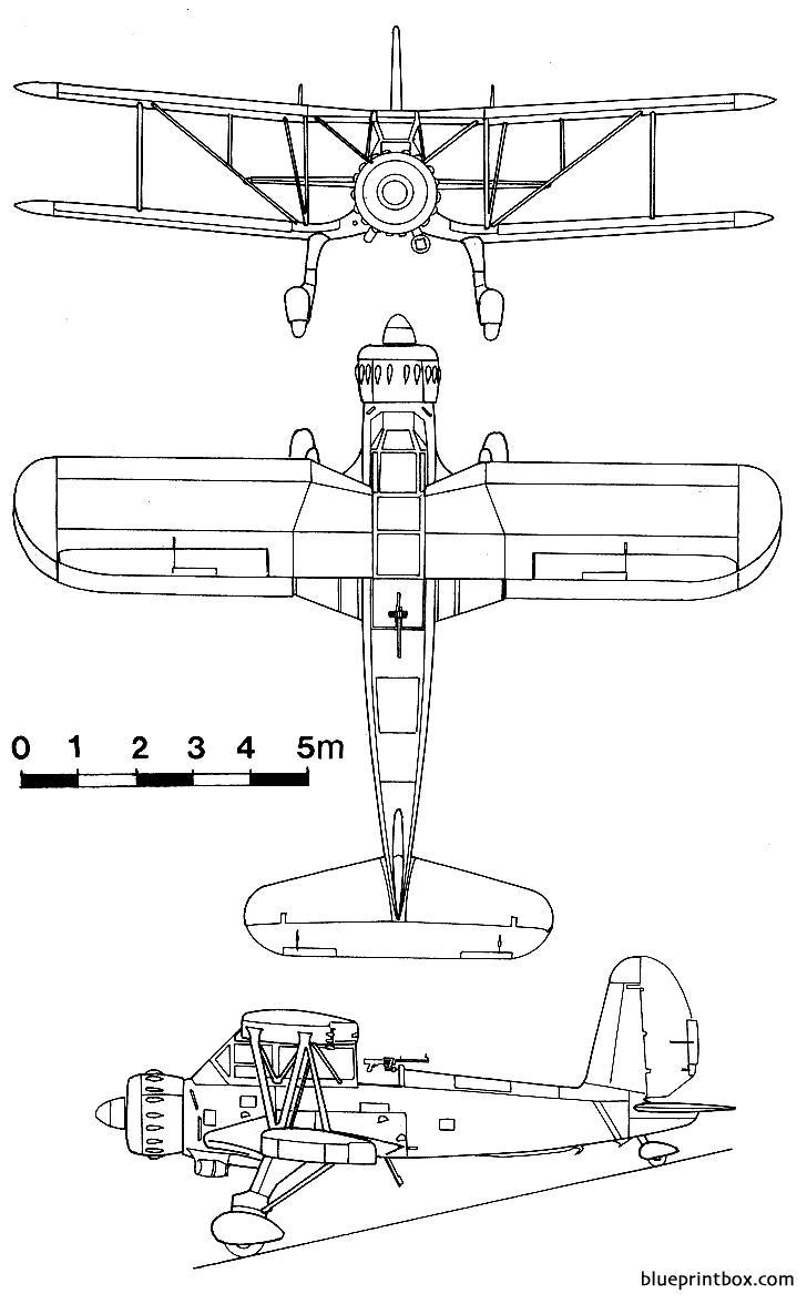Arado ar 195 free plans and for Arkansas blueprint
