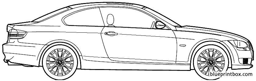 Bmw 3 E46 Coupe - Blueprintbox Com