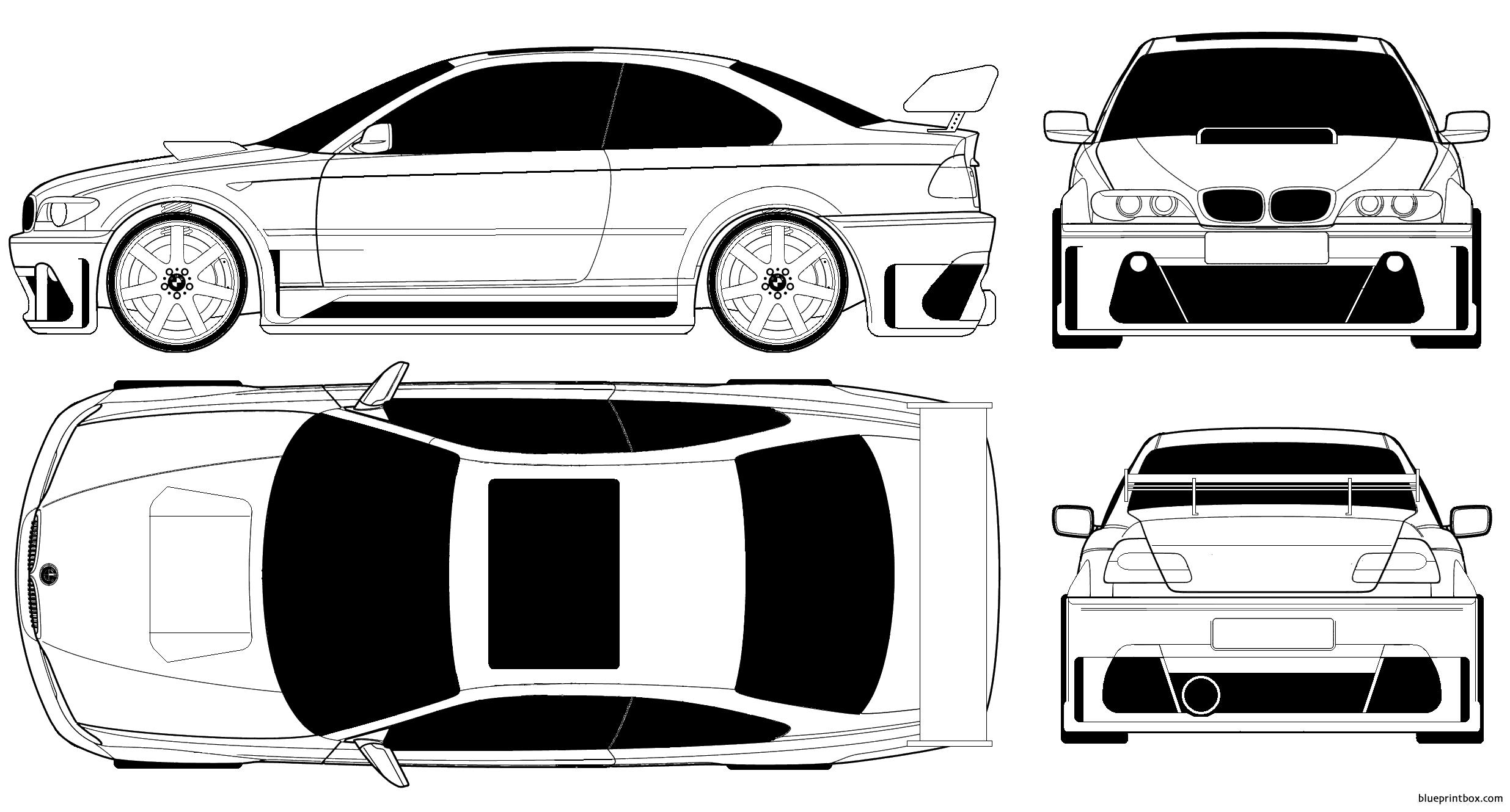 Bmw 3 Series Coupe Tuned - Blueprintbox Com