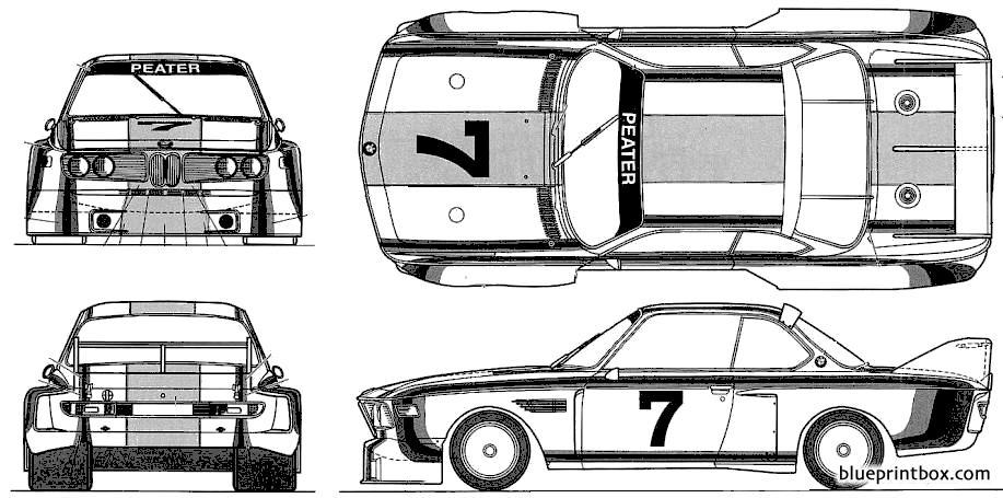 Bmw 3 Touring Car - Blueprintbox Com