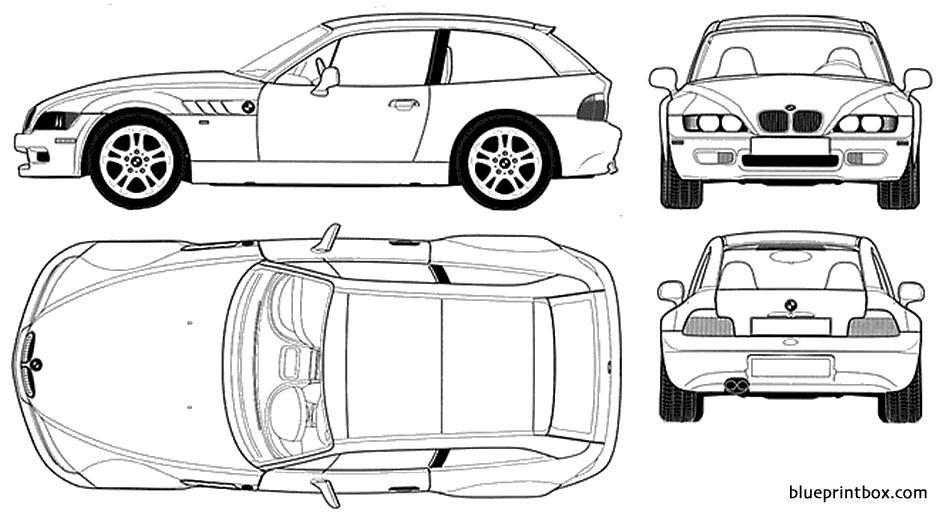 bmw z3 m coupe 2 - blueprintbox com