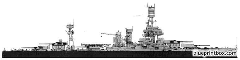 Uss Bb 35 Texas 1943 Battleship 2