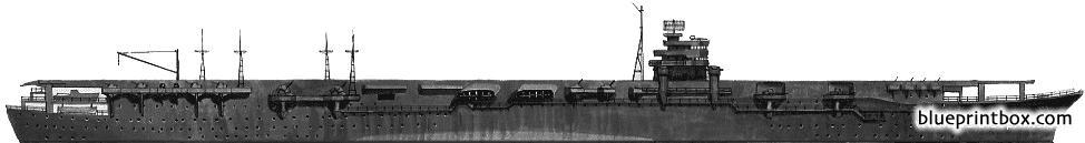 ijn zuikaku 1944 aircraft carrier - BlueprintBox com - Free