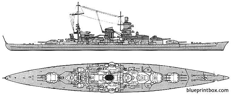 Dkm Scharnhorst 1942 Battlecruiser