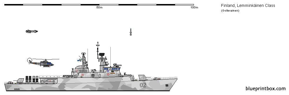 Fi Fs Meko 140 Lemminkainen Au 3 - Blueprintbox Com
