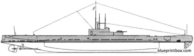 Hms Porpoise 1940 Submarine - Blueprintbox Com