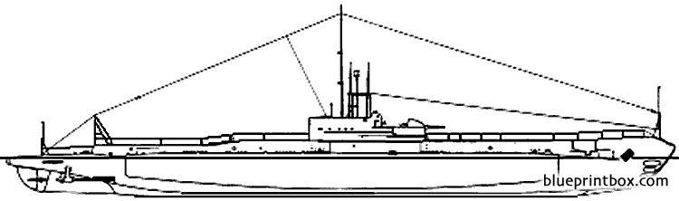 Hms Regent 1943 Submarine - Blueprintbox Com