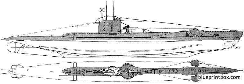 Hms Unison 1943 Submarine - Blueprintbox Com