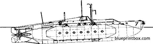 Hms X7 1943 Midget Submarine - Blueprintbox Com