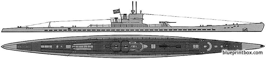 Dkm U Boat Type Ixc - Blueprintbox Com