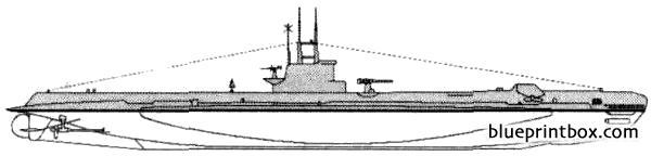 Hms Spiteful 1945 Submarine - Blueprintbox Com