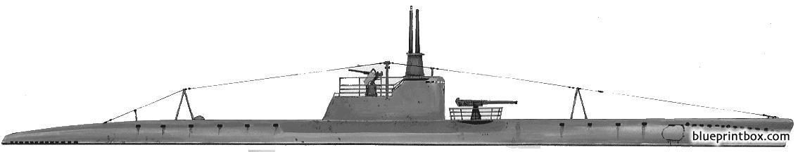 Ussr Narodolovec D4 Series I 1942 Submarine