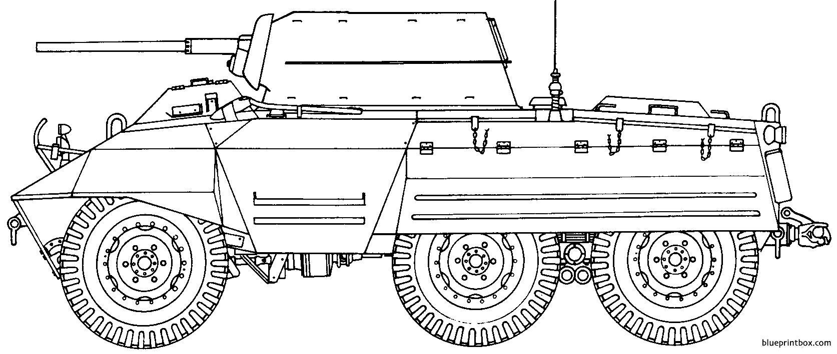 Ford M8 - Blueprintbox Com
