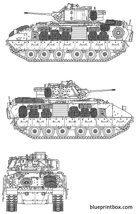 M2a2 Ods Infantry Fighting Vehicle