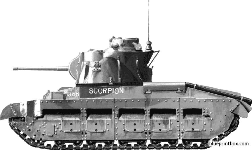 Matilda Infantry Tank Mkii - Blueprintbox Com