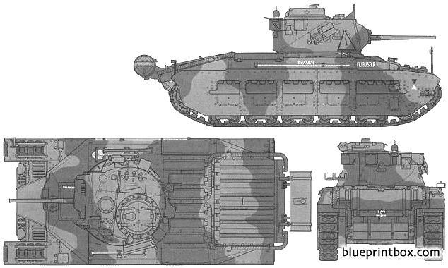 Matilda Mkiii - Blueprintbox Com