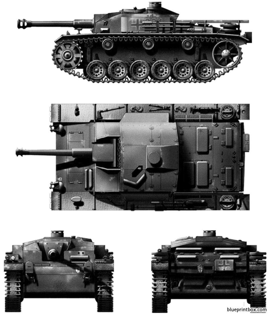 Sdkfz1421 Sturmgeschutz Iii Ausff Stugiii