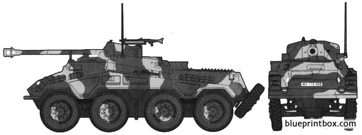 Sdkfz234 3 - Blueprintbox Com