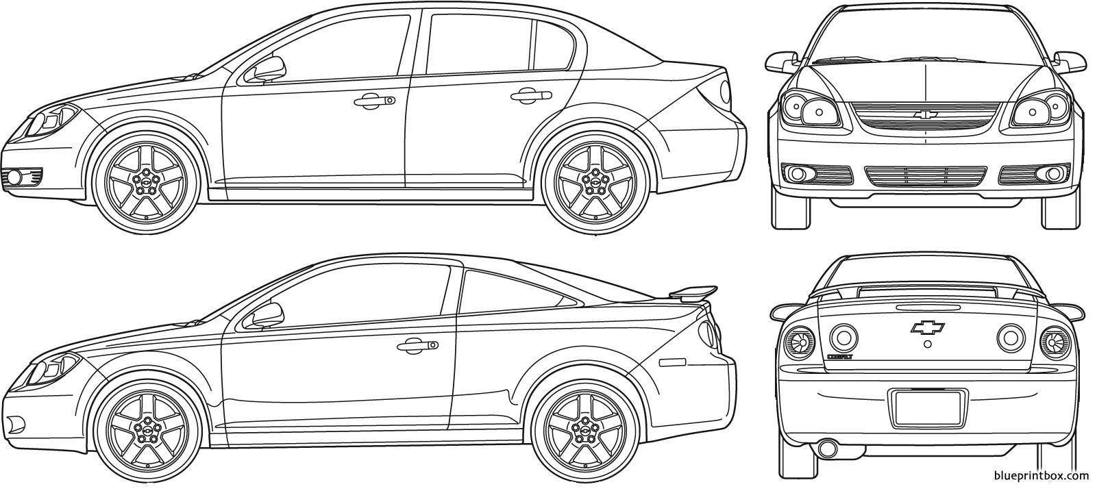 Chevrolet Cobalt 2007 - Blueprintbox Com