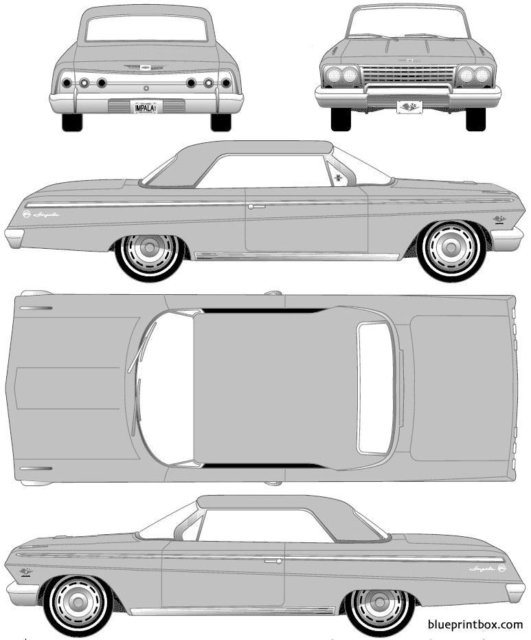 Chevrolet Impala Sport Coupe 1962