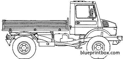 mercedes benz unimog u1450 2006 - BlueprintBox.com - Free ...