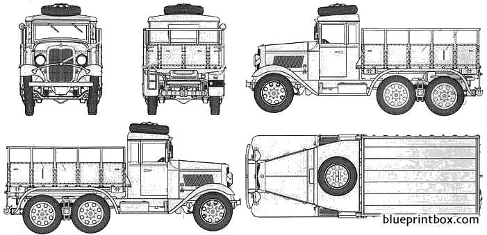 Ija Type 94 6 Wheel Cargo Carrier Hardtop