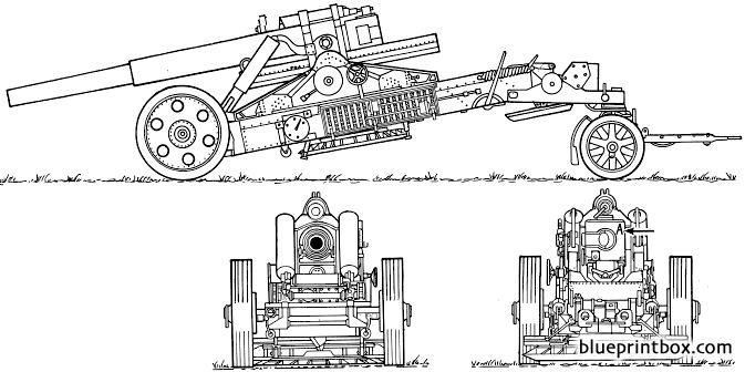 21cm Morser 18 - Blueprintbox Com