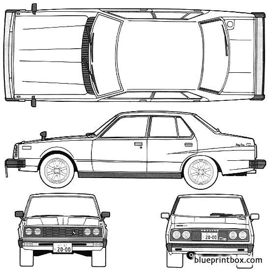Datsun Skyline 240k 2000gt Es 4 Door C210 1979