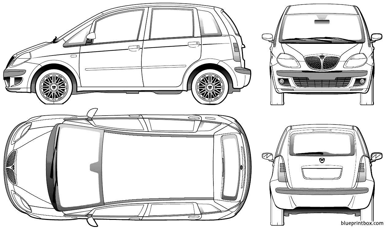 Lancia Musa 2005 - Blueprintbox Com