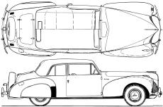 lincoln continental v12 coupe 1940