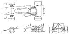 lotus ford 72 f1 gp 1970 1