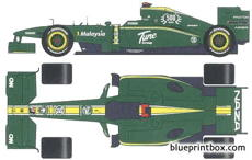 lotus racing t127 f1 gp 2010