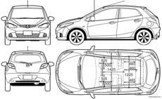 Mazda 2 2008 blueprintbox free plans and blueprints of cars mazda 2 2008 malvernweather Gallery
