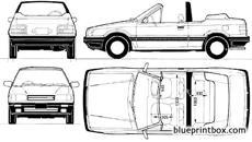 Mazda 2 5 door hatchback 2003 2007 blueprintbox free plans mazda 323 familia cabriolet 1987 malvernweather Gallery