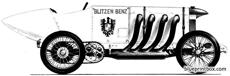 blitzen benz 1910 land speed rekord car