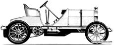 mercedes 1904 land speed rekord car 2
