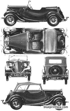 morris eight series 1 tourer 1935