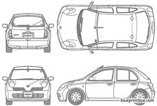 nissan march v selection