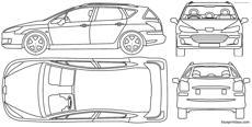 Peugeot 504 Break Gl Blueprintbox Com Free Plans And Blueprints