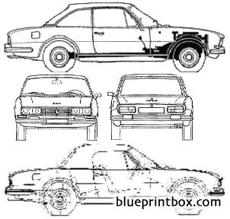 Peugeot 504 Cabriolet Blueprintbox Com Free Plans And Blueprints