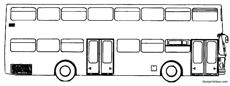 man double decker bus